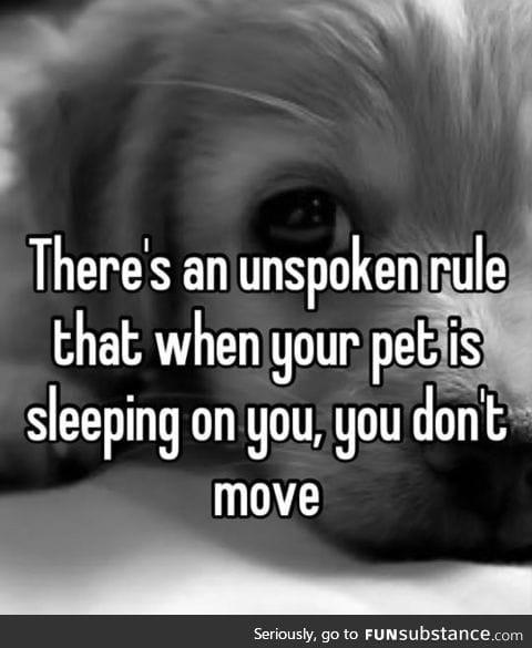 Important unspoken rule