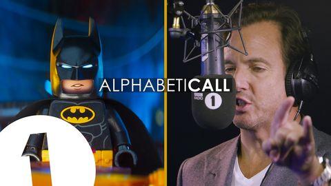 Will Arnett calls a toy shop in character as LEGO Batman