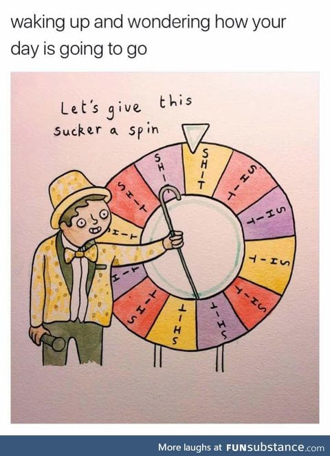The wheel of shit