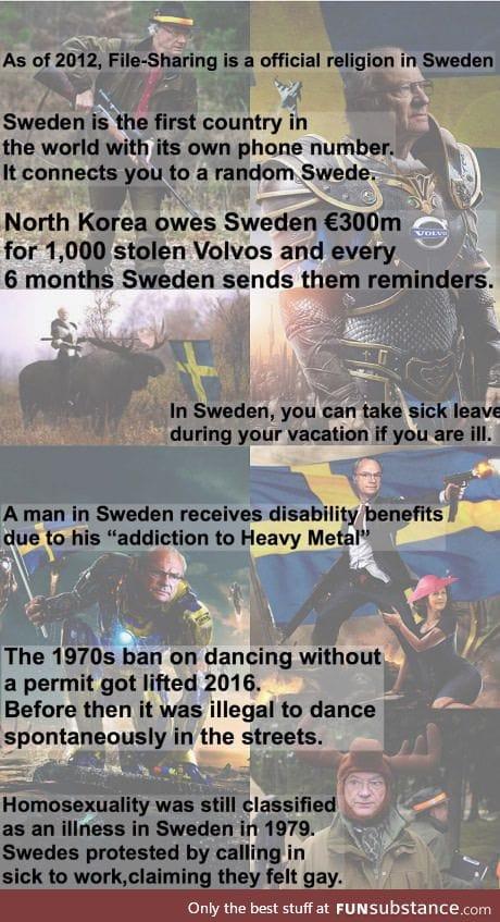 Random swedish facts