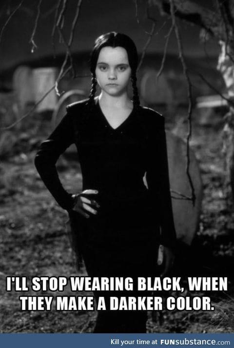 Even darker than black