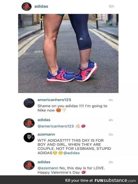 Adidas gets it