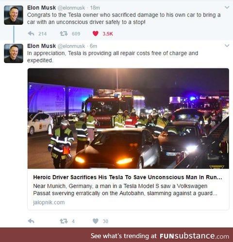 Why I like Elon Musk
