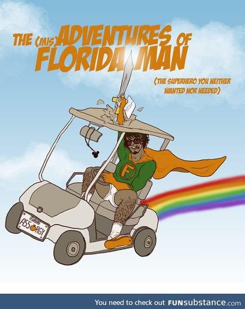 Florida Man finally has a comic