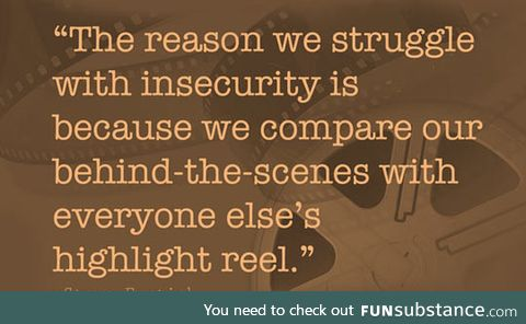 Why we struggle with insecurity