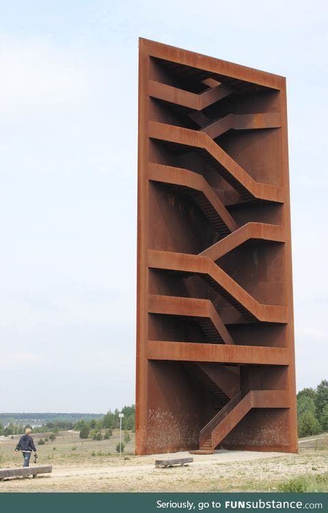 An observation tower