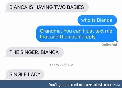 Goddammit grandma