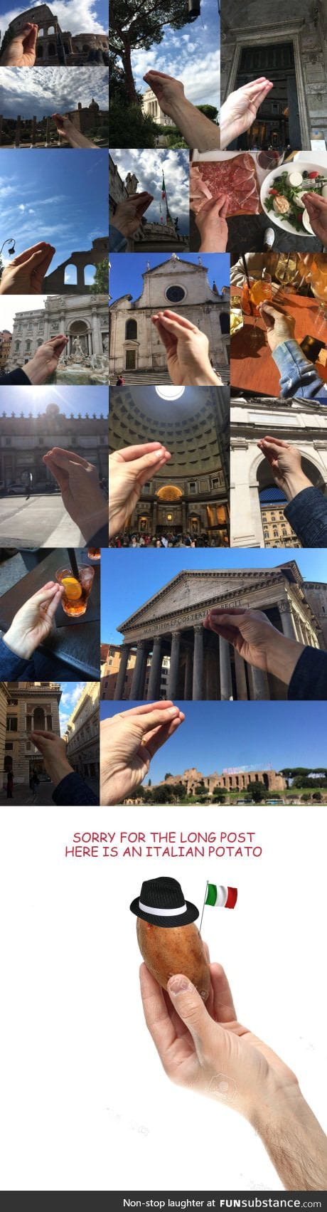 How visiting Italy looks like