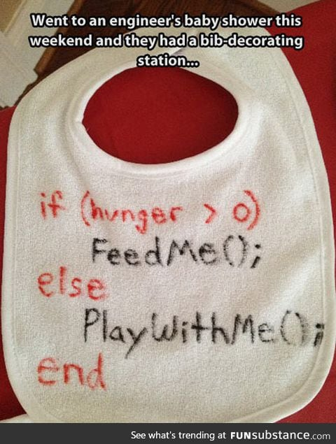 When engineers have babies