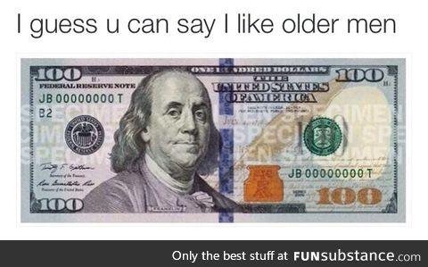 *older man gives you older man*