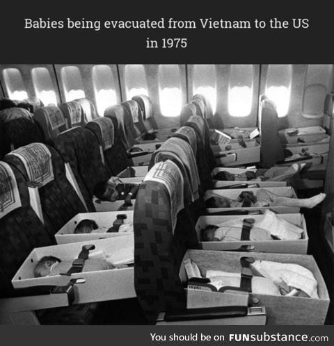 """""""Operation Babylift"""" in 1975"""