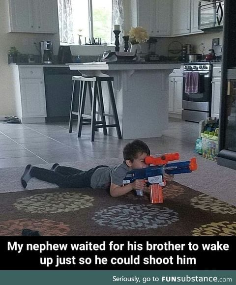 Sniper in training