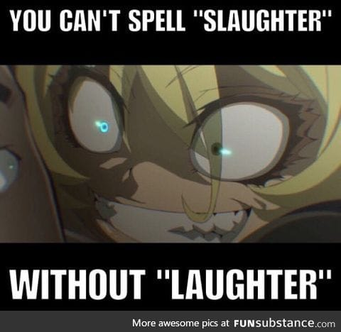 *Maniacal laugh intensifies*