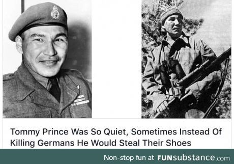 Canadian WWII Soldier stealth level: 100