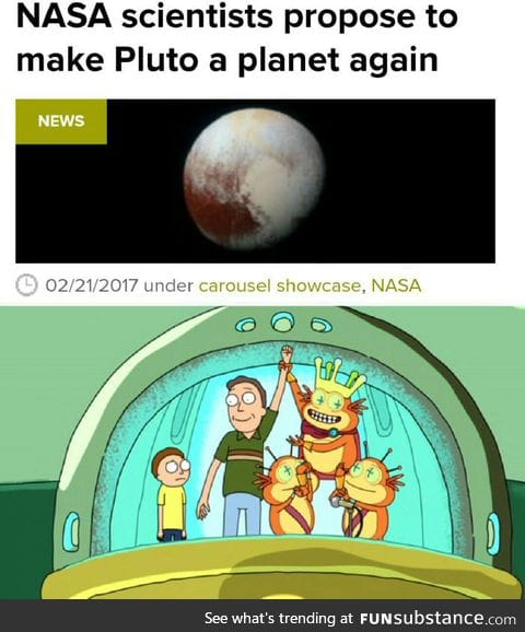 Make Pluto great again!!