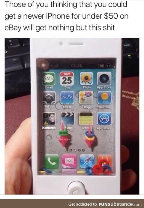 $50 iPhone