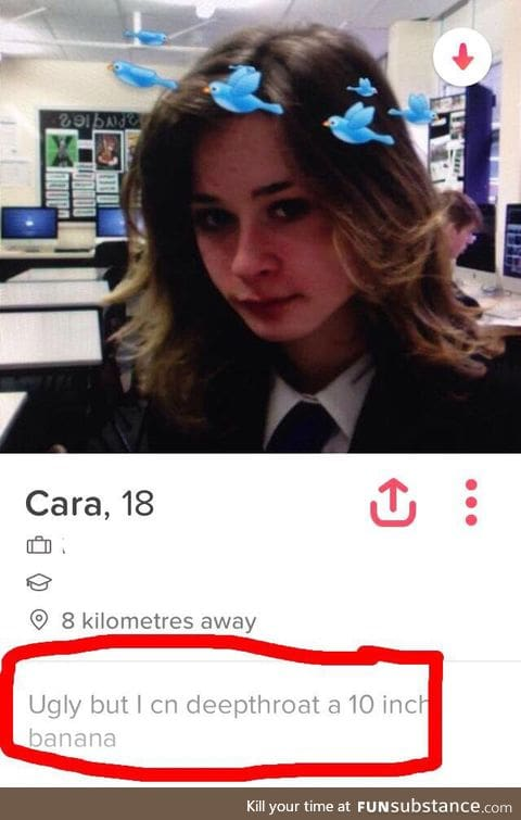 At least she's honest