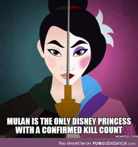 Mulan the killer