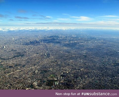 Tokyo city is absolutely massive