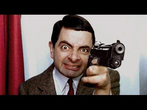Mr. Bean as a psycho maniac