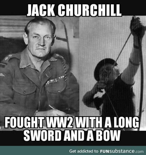 This man went full Rambo
