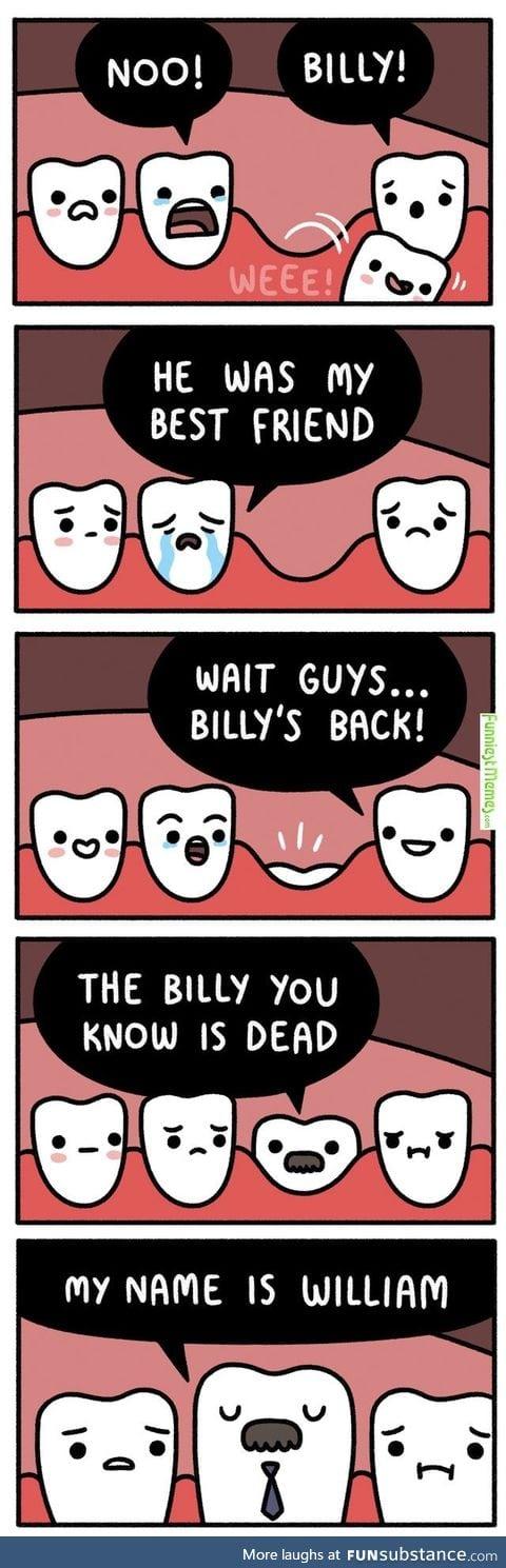 Adult teeth