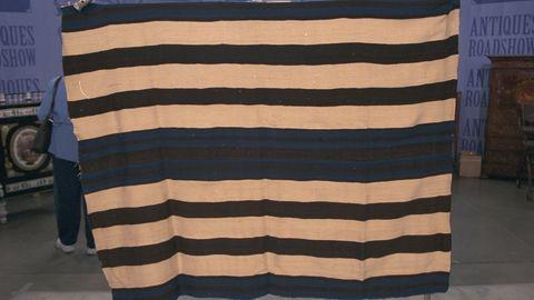 A blanket worth half a million dollars