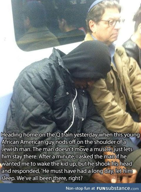 Faith in Humanity Somewhat Restored