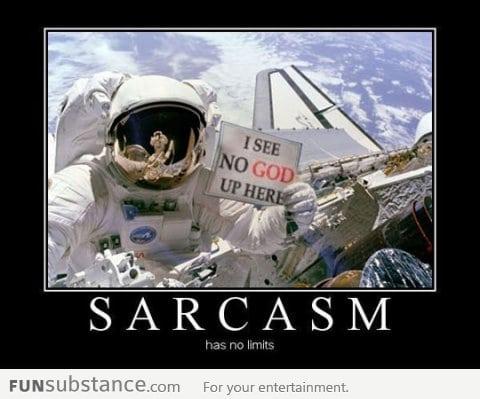 An astronaut's realization