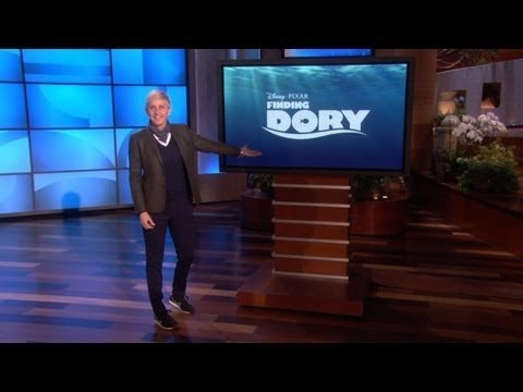 "Ellen Announces ""Finding Dory"""