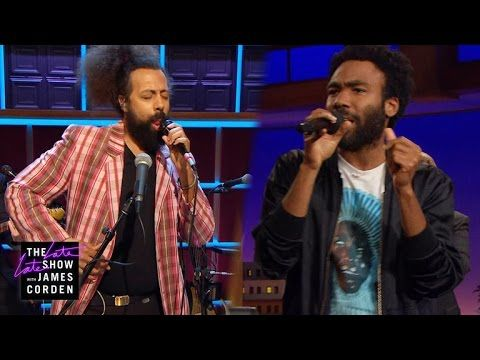 Donald Glover gave an amazing response when Reggie Watts asked him to jam