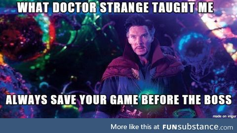 What I learned from Doctor Strange