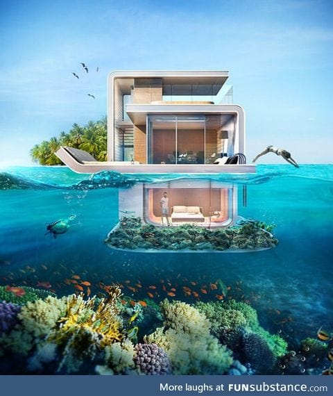 The Floating Seahorse - the first floating house in the world