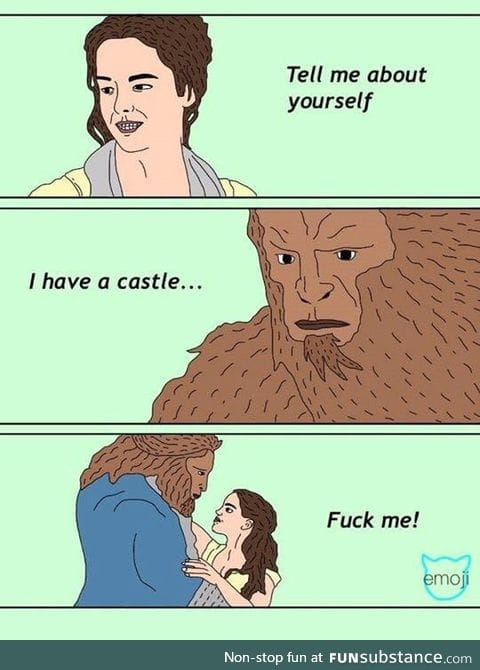 Moral of the story for Beauty and The Beast