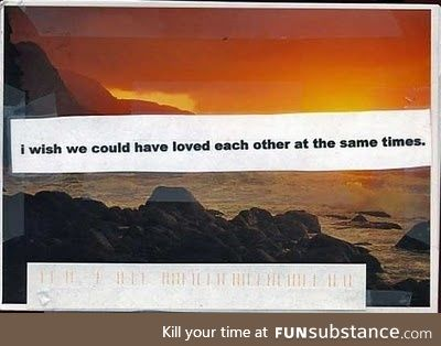 Do you visit PostSecret? You should, it casts things in sharp relief.