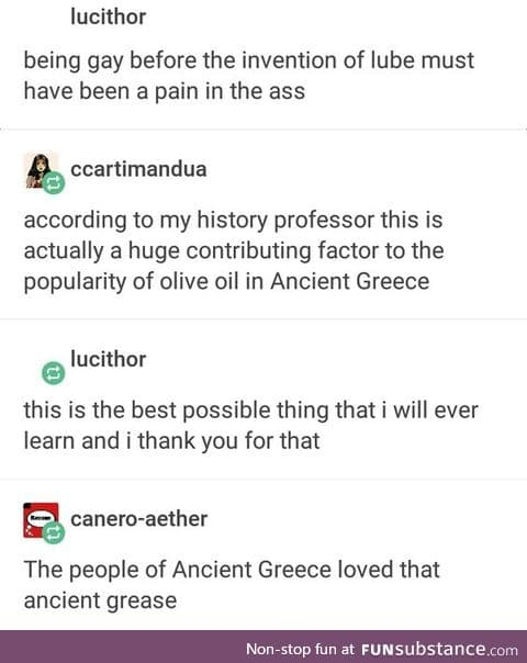 Ah, my creative ancestors!