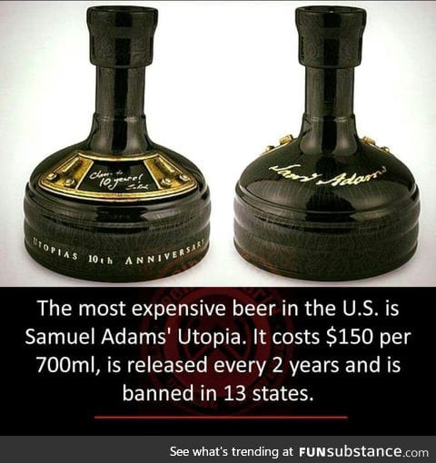 The most expensive beer