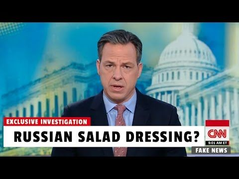 CNN Investigates Russian Salad Dressing. Really.
