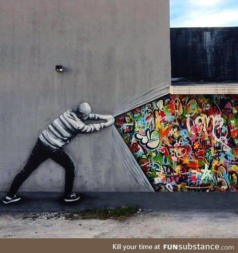 Street art reveal