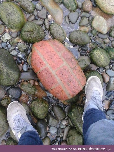 Wall boulder?