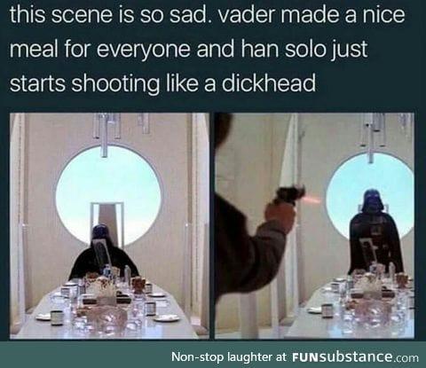 Han Solo is a jerk