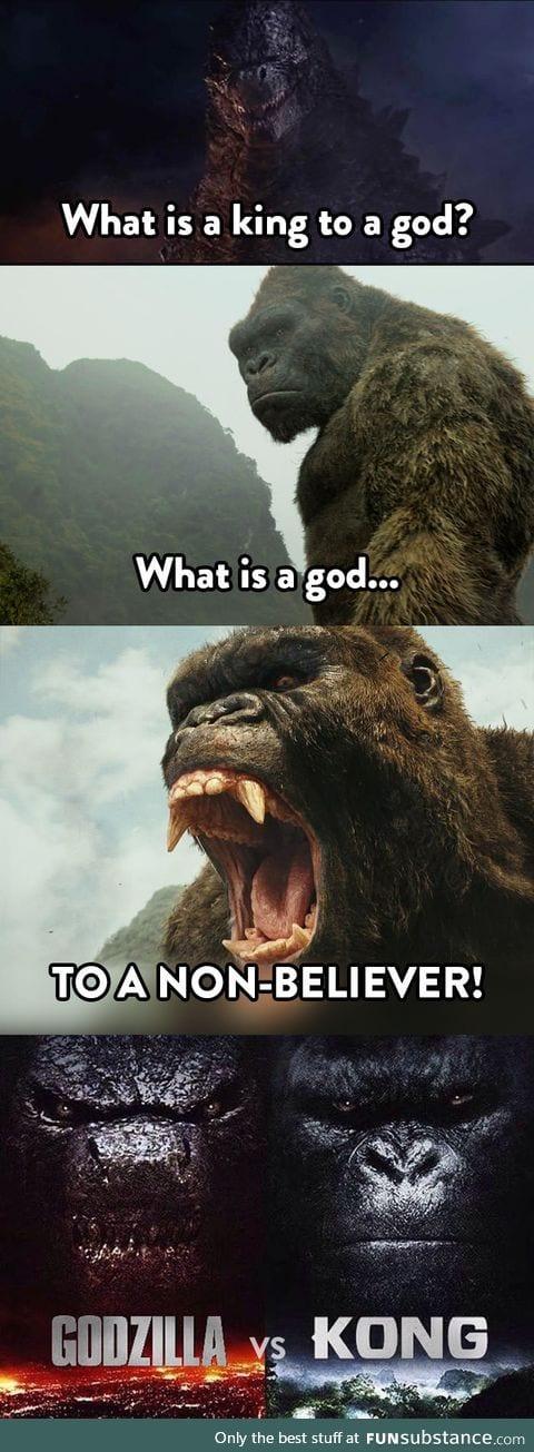 Godzilla vs. Kong 2020!