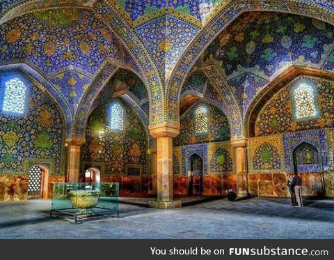 King's mosque in Isfahan_Iran
