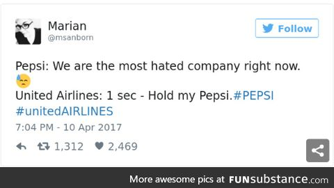 you're cool now Pepsi