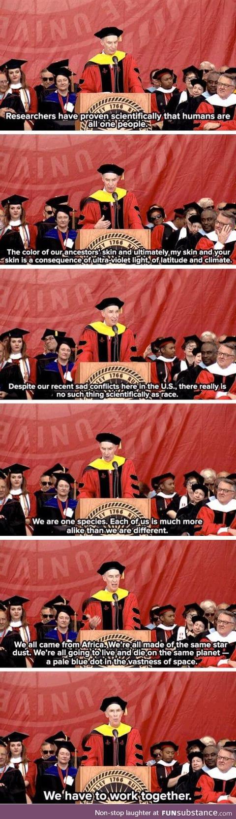 Bill Nye talking about race