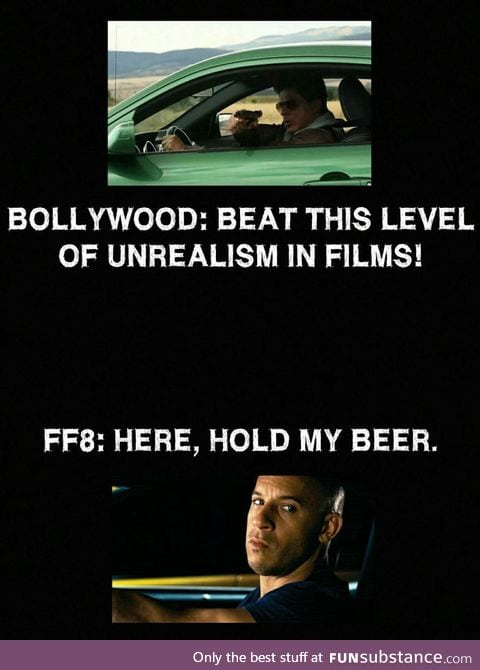 Fast and Furious is learning from Bollywood