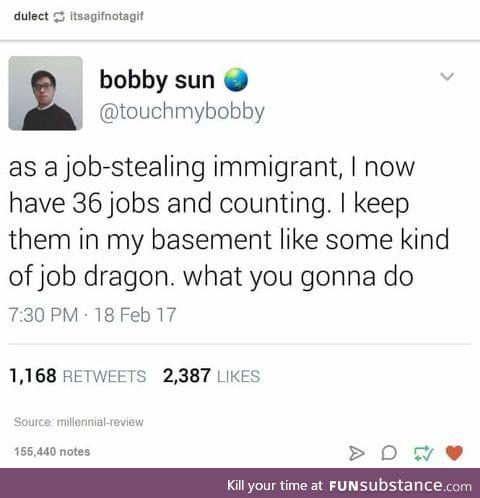 Those bastards!