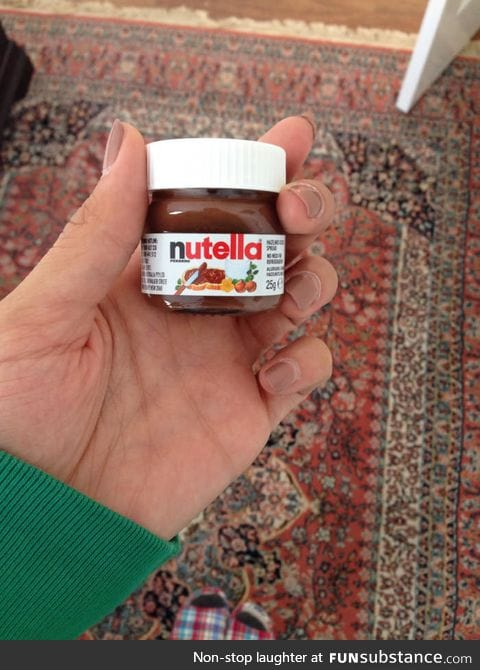 Have you ever seen a baby Nutella
