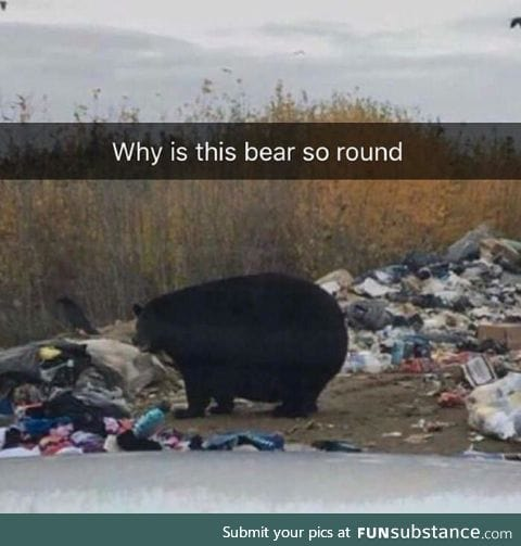 He can bearly move