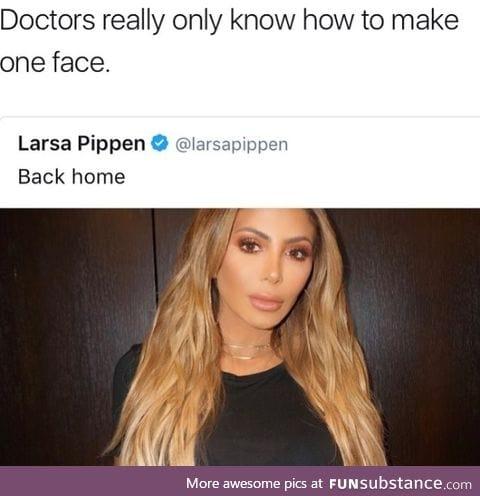You mean that's not Kim Kardashian?